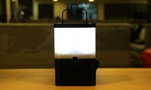 Đèn LED sáng nhờ nước muối